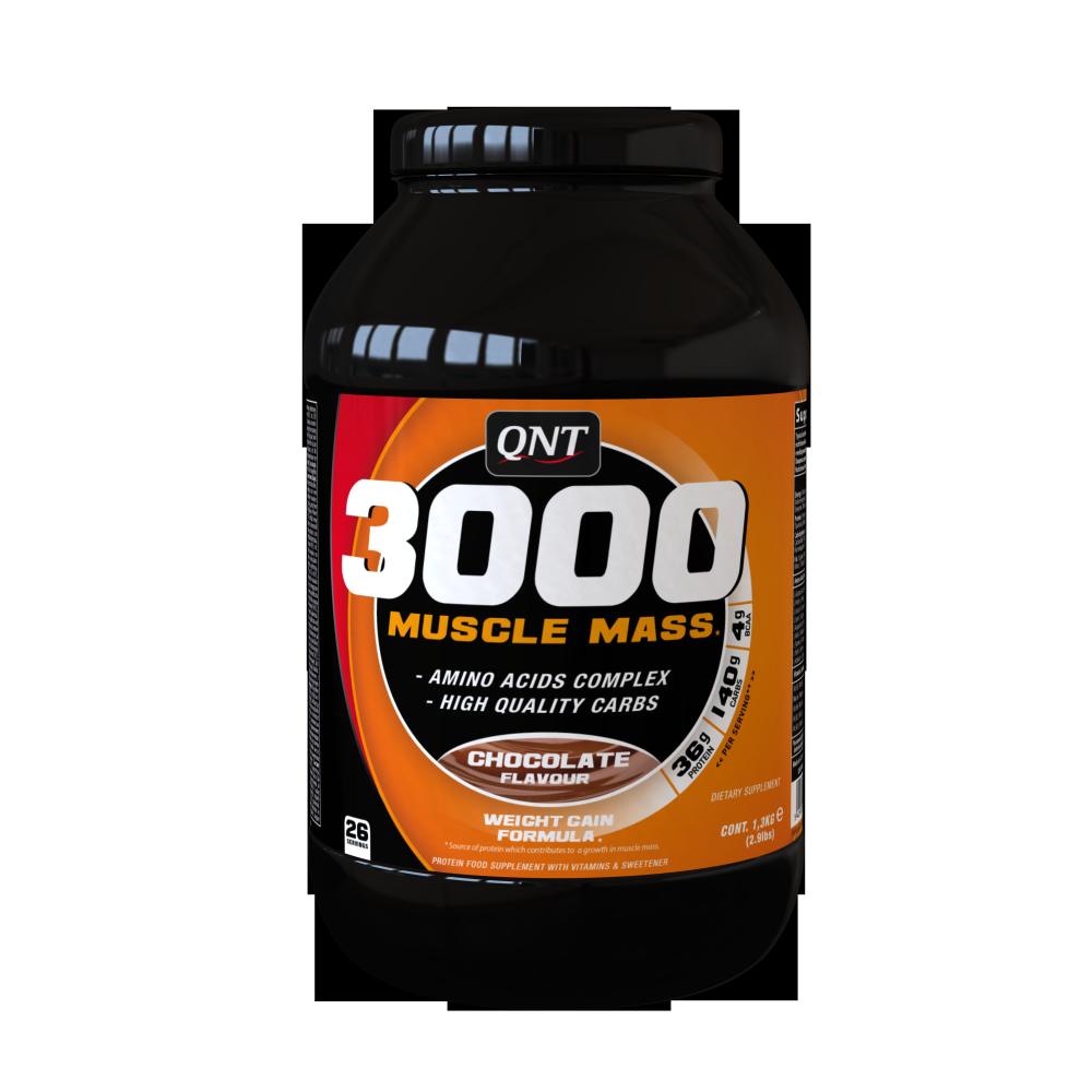 3000 Muscle Mass 1300 грамм - Vanilla