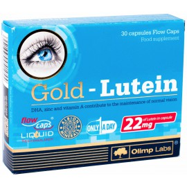 Gold Lutein 30 капсул