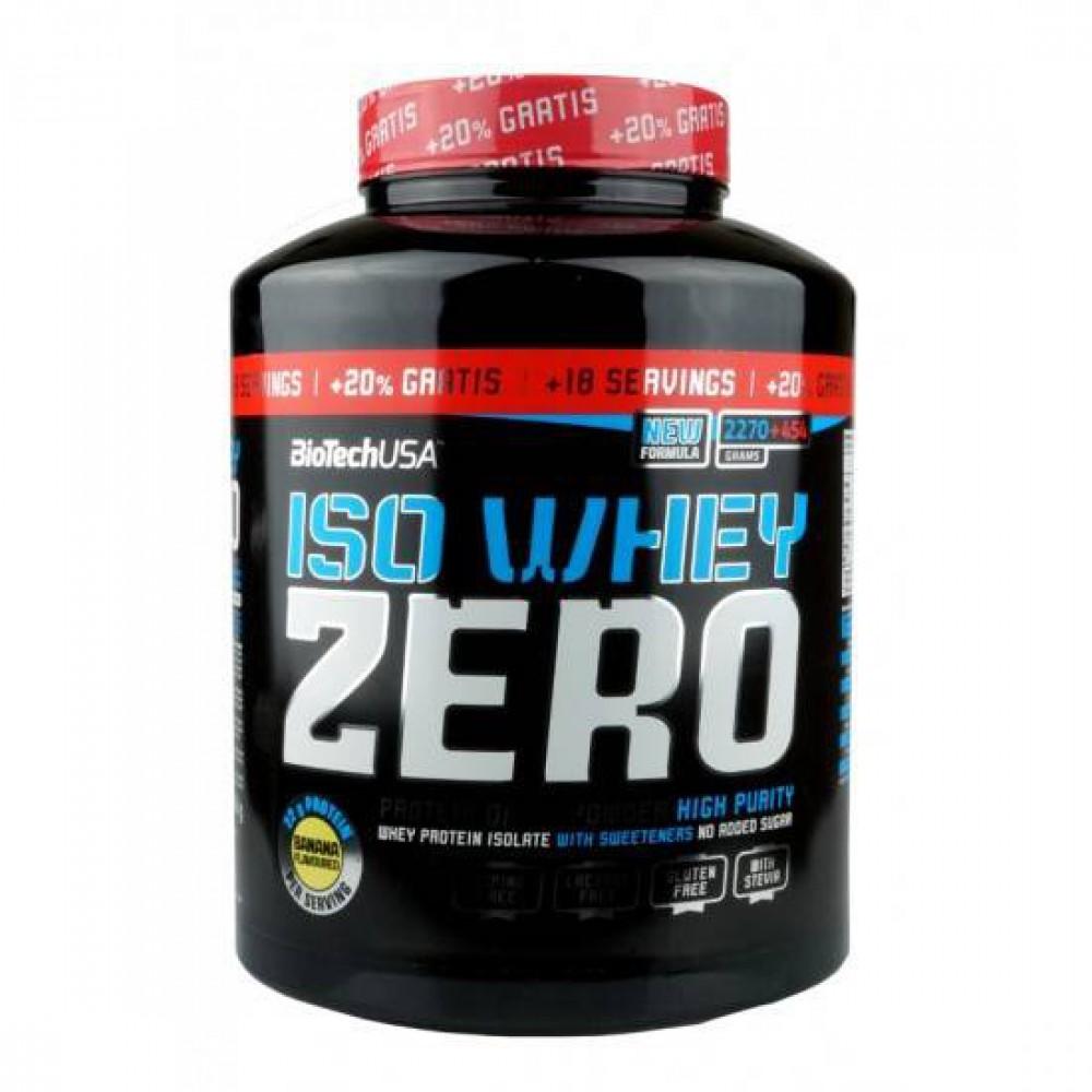ISO WHEY Zero lactose free 2270 грамм - cookie & cream