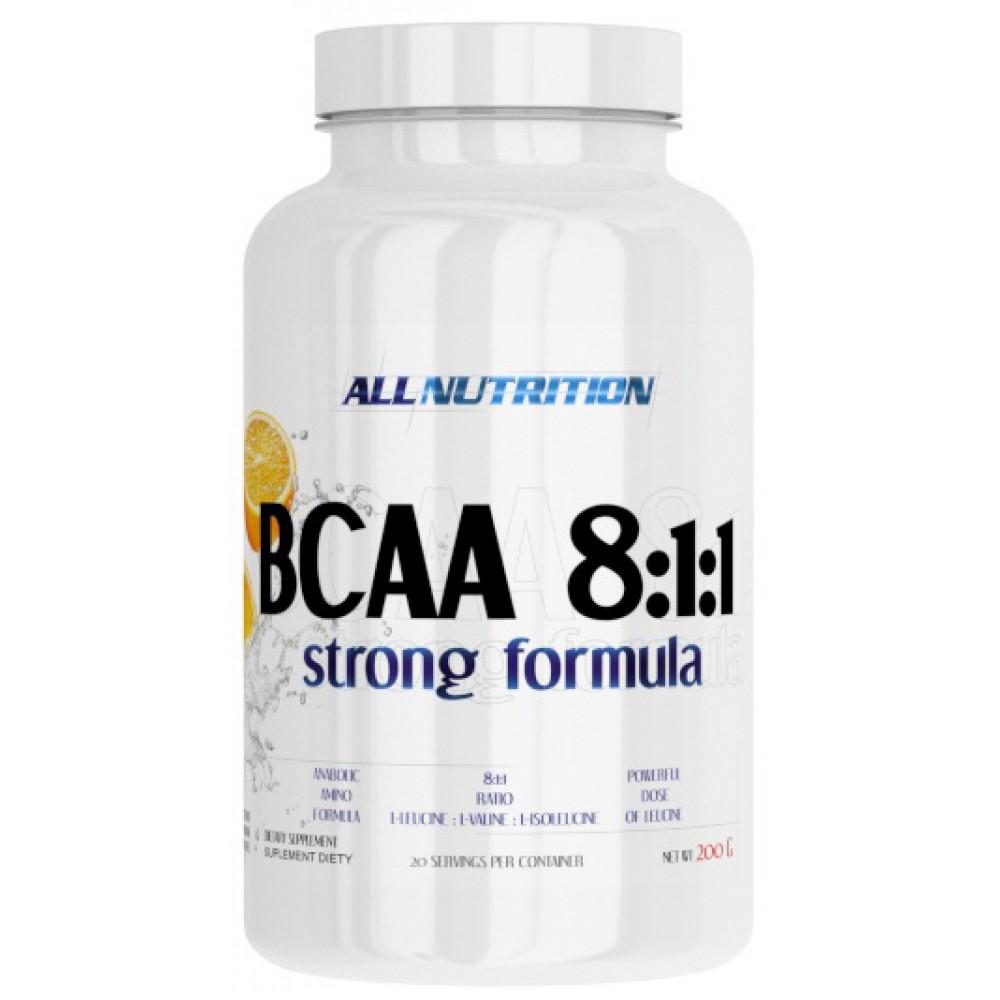 BCAA 8:1:1 Strong Formula 200 грамм - orange
