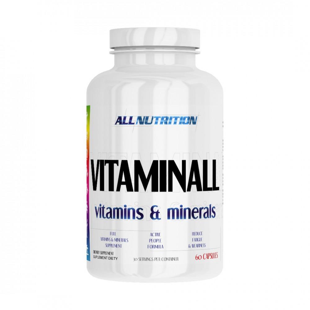 VitaminALL Vitamins & Minerals 60 капсул