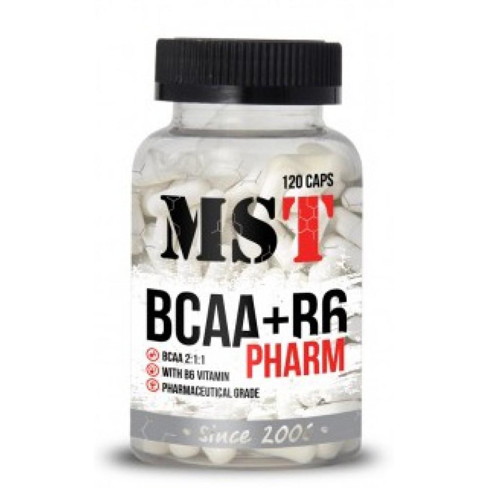 BCAA+B6 Pharm 120 капсул