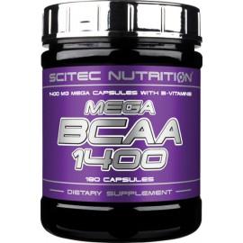 BCAA Mega 1400 180 капсул