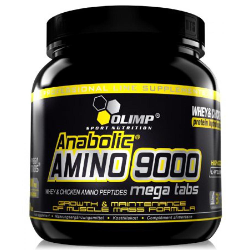 Anabolic Amino 9000 Mega Tabs 300 таблеток