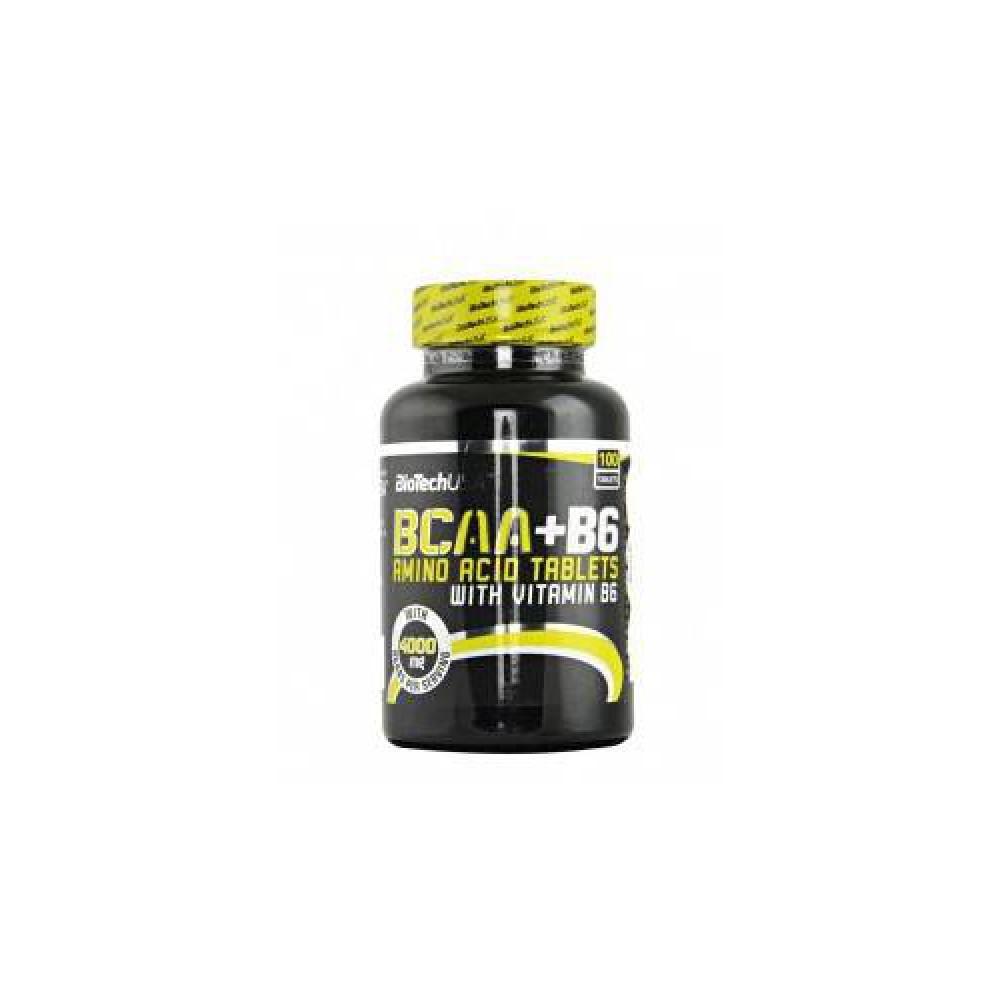BCAA +B6 100 таблеток