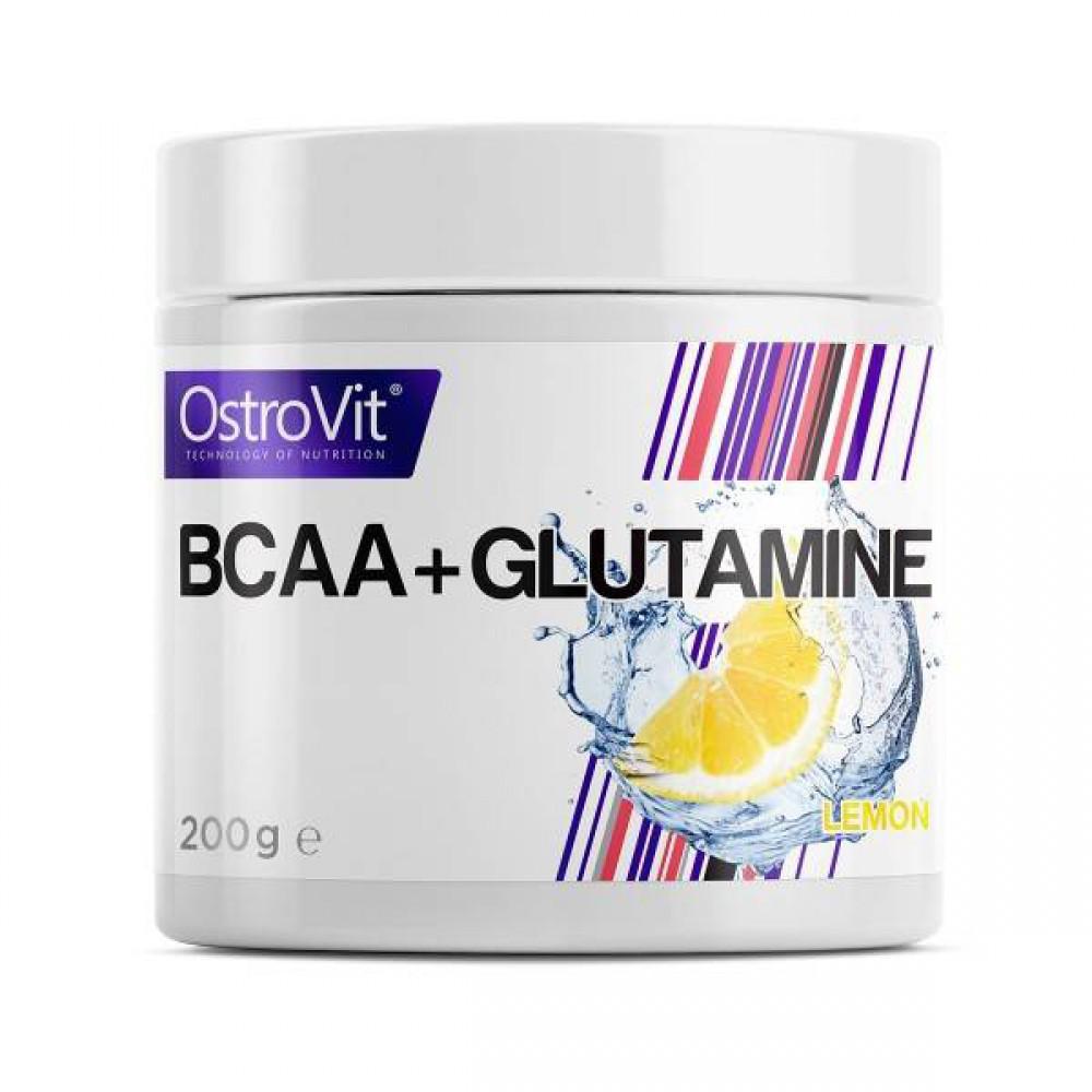 Bcaa + Glutamine 200 грамм - orange