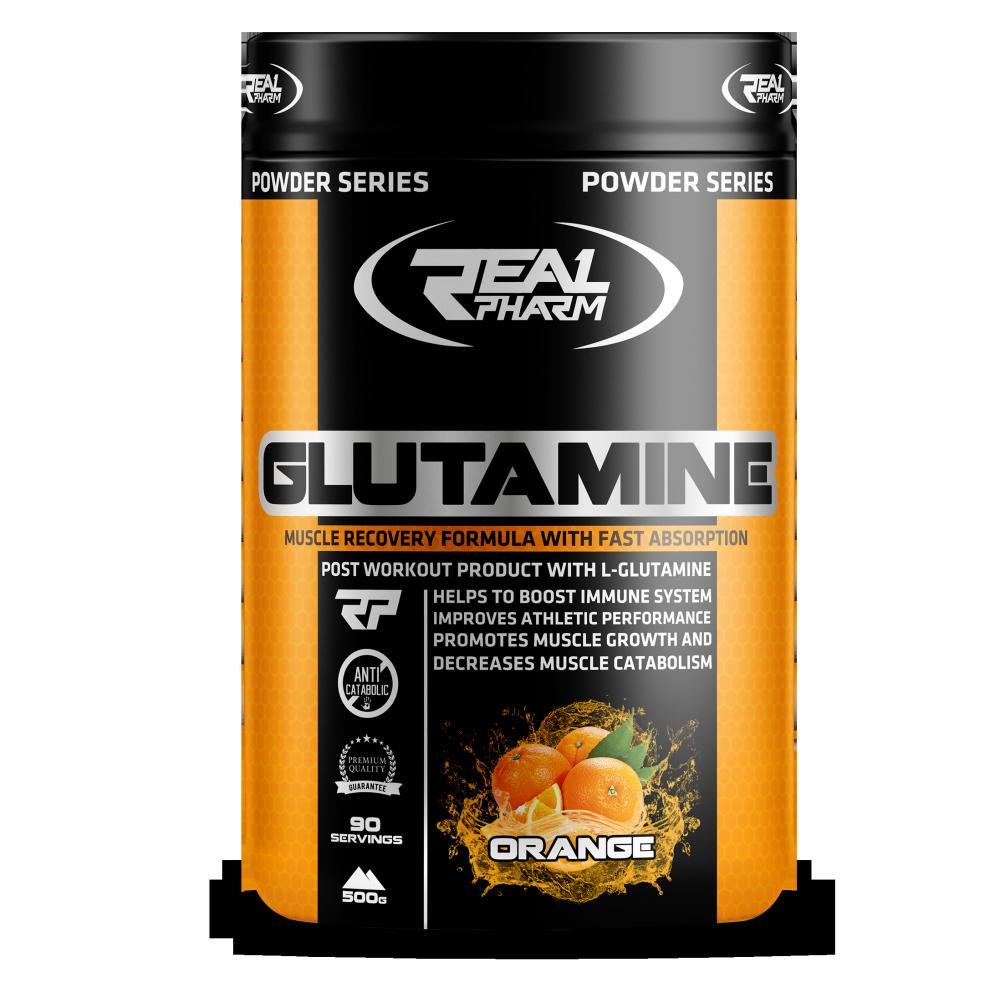 Glutamine Powder 500 грамм - Mango Maracuja