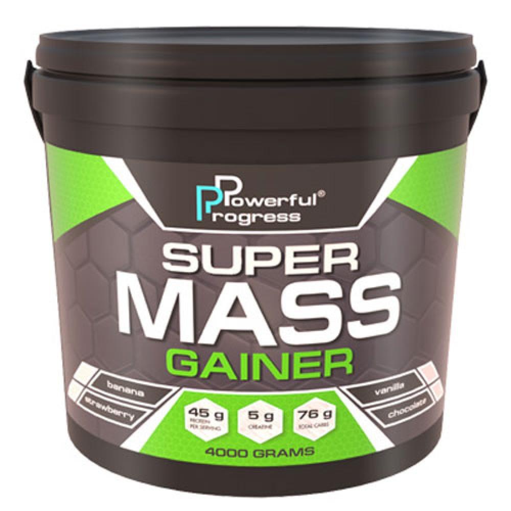 Super Mass Gainer 4000 грамм - chocolate