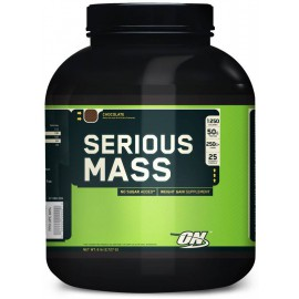Serious Mass (No Sugar Added) 2700 грамм - vanilla