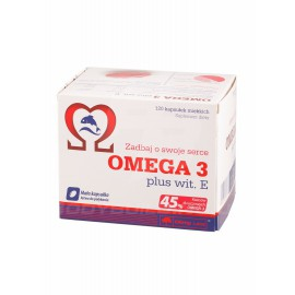 Omega 3 45% plus vit. E 120 капсул