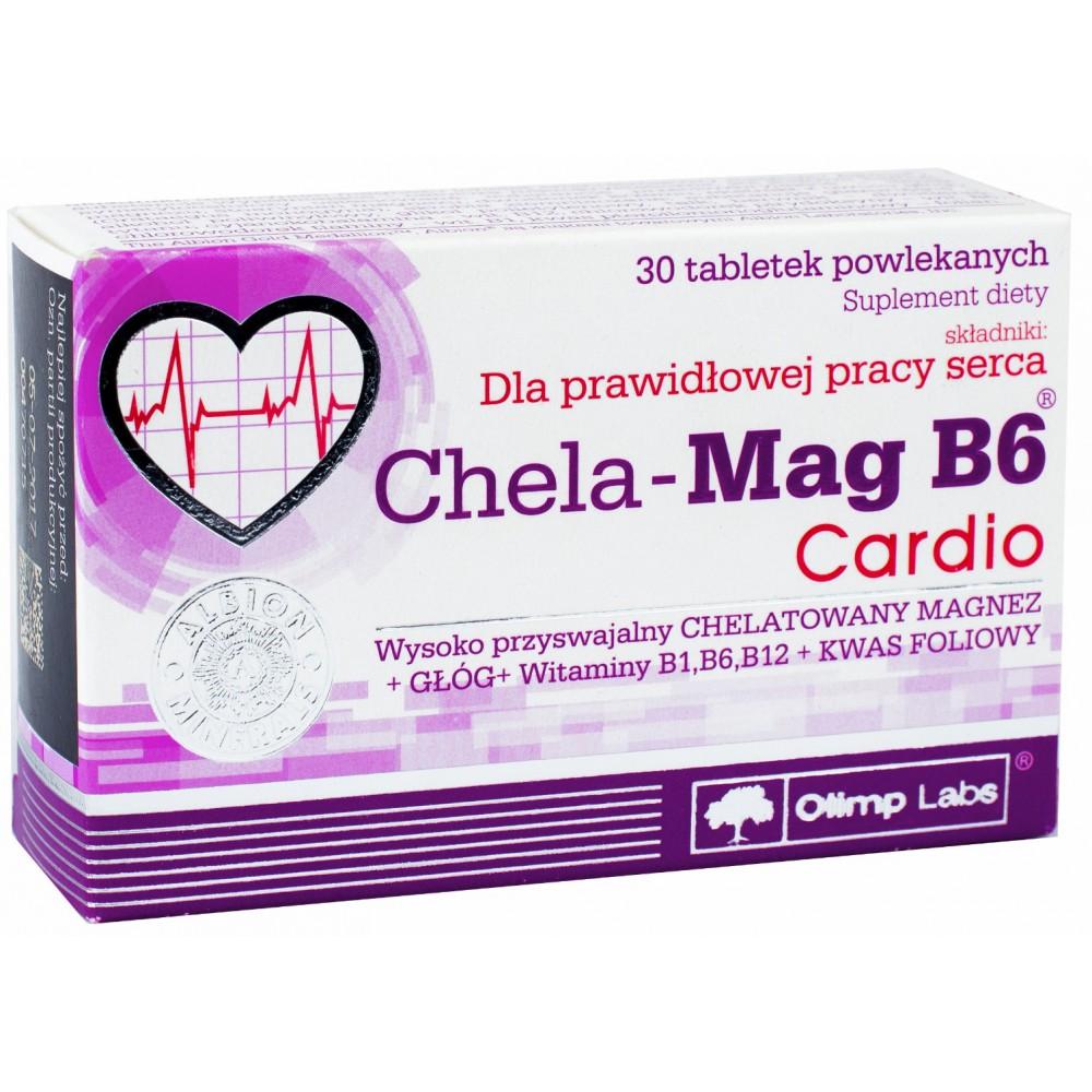 Chela-Mag B6 Cardio 30 таблеток
