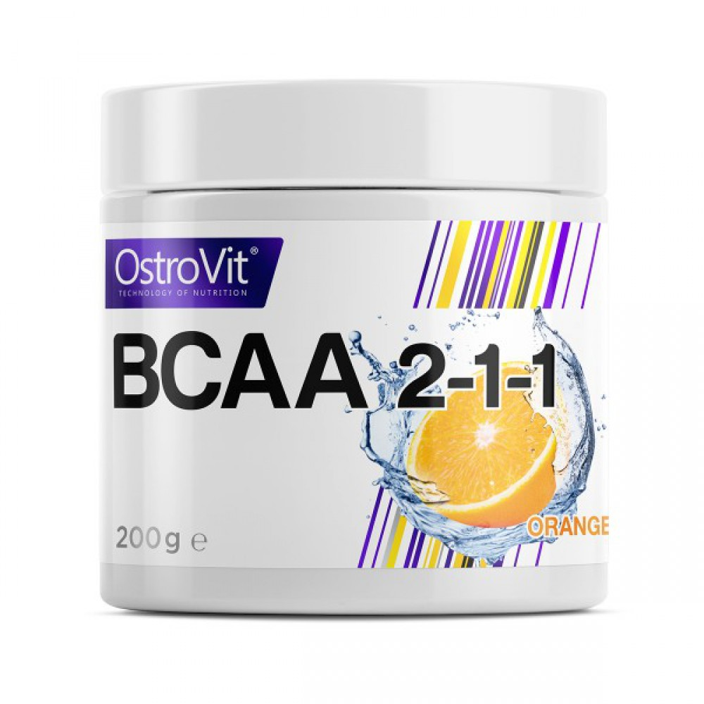 BCAA 2-1-1 200 грамм - orange