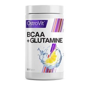 BCAA + GLUTAMINE 500 грамм - lemon