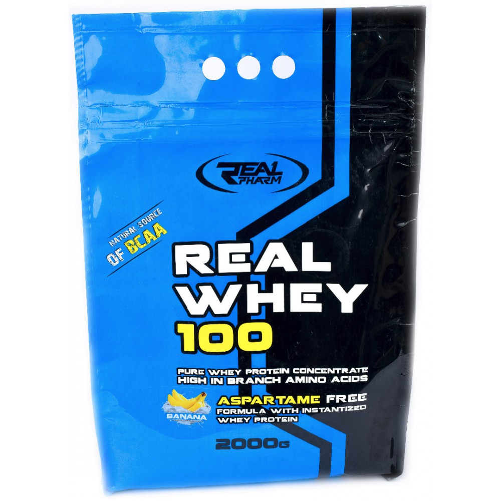 Real Whey 100 2000 грамм - Caramel