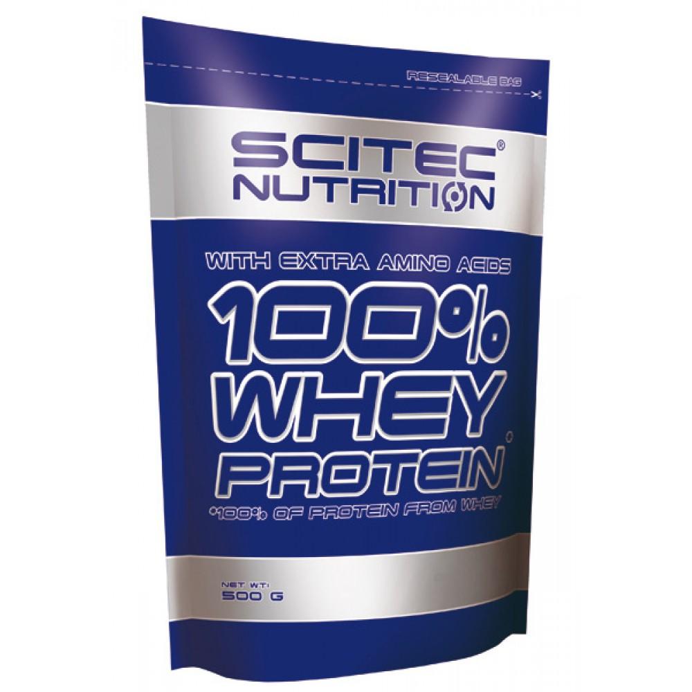 100% Whey Protein 500 грамм - chocolate